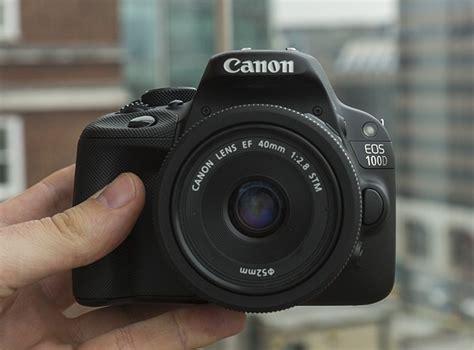 Kamera Canon Eos 100d canon eos 100d kamera dslr terkecil teknoflas