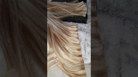 turn tape hair  weft extensions youtube