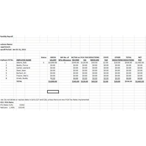 Downloadable Free Payroll Deductions Worksheet Using The Wage Bracket Table Tax Deduction Spreadsheet Template Excel