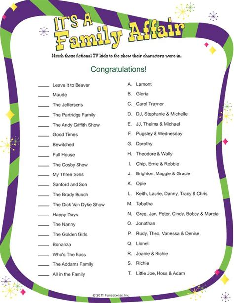 free printable family reunion worksheets 17 best images about family reunion ideas on pinterest