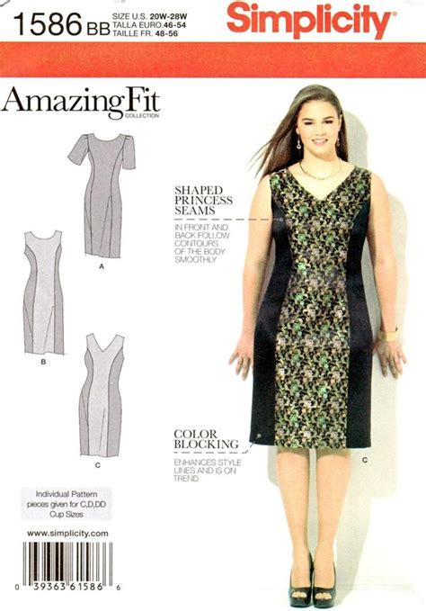 pattern review simplicity 1586 simplicity 1586 sewing pattern misses dress amazing fit
