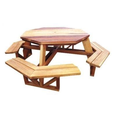 8 person picnic table plans more octagon picnic table plans build by own