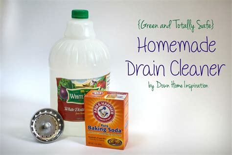 bathroom drain cleaner homemade homemade drain cleaner totally green and safe down
