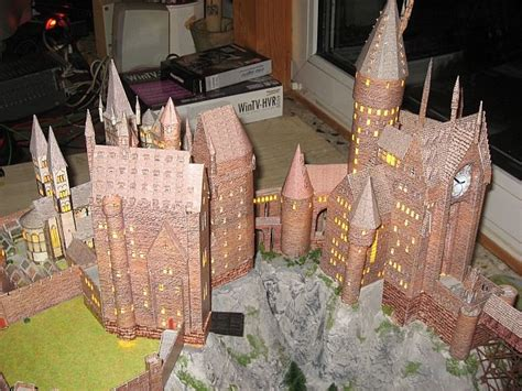Hogwarts Castle Papercraft - mychaoz 161 161 161 papercraft de hogwarts
