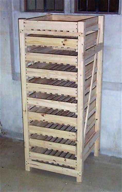 wooden apple storage rack  drawer traditional design
