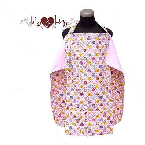 Apron Menyusui jual nursing cover nursing apron patchwork pink penutup menyusui chocopink