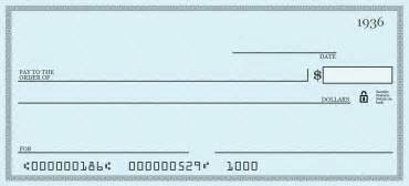 blank check template how do you write a check to pay for something