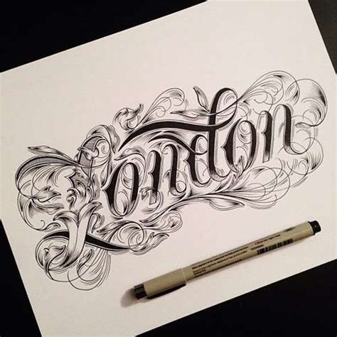 tattoo lettering ideas for 2017