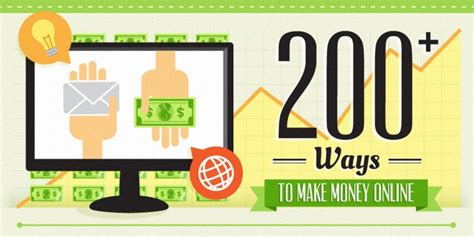 Way Of Making Money Online - 200 ways to make money online infographic earnistan com