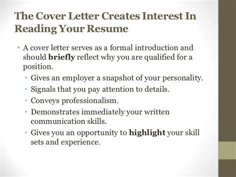 cover letter workshop resume and cover letter workshop