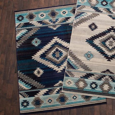 5 x5 rug southwest rains blue rug 5 x 7