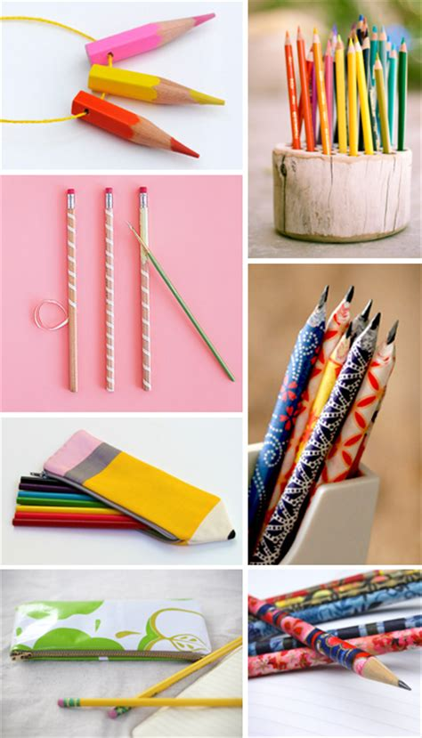 How To Decorate A Pencil Pouch by 7 Pencil Related Diy Projects How About Orange