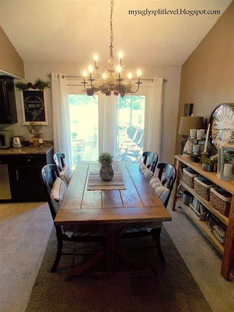 how to decorate a tri level home my ugly split level dining room finally