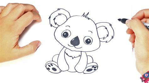 imagenes kawaii de koalas como dibujar un koala kawaii paso a paso f 225 cil youtube