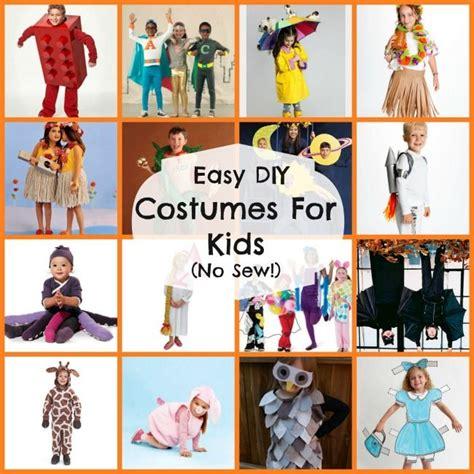 diy easy costumes  kids  sew halloween