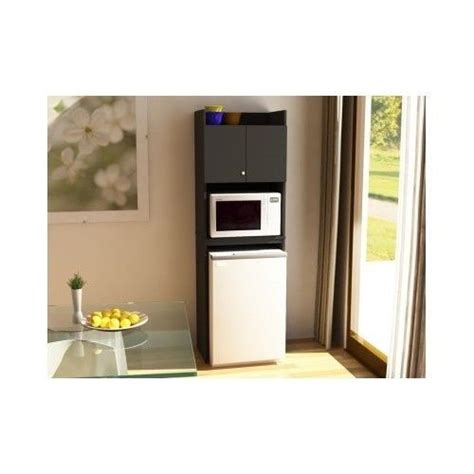kitchen storage cabinet combo refrigerator microwave mini