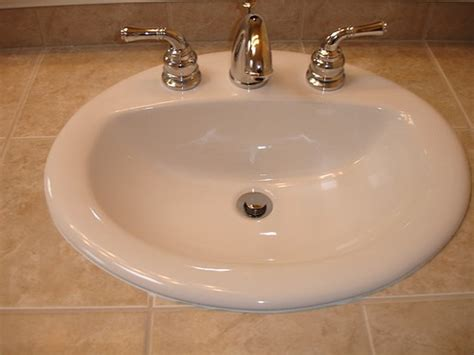 top mount sink bathroom what kind of bathroom sink should i buy