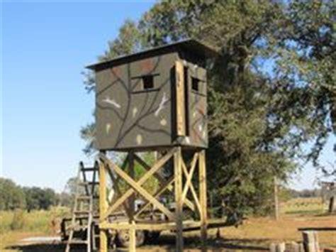 Deer Stands On Pinterest Deer Blinds Hunting Blinds And Deer Shooting House Plans