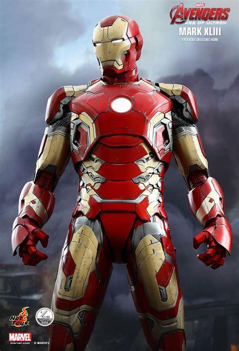 hot toys iron man mk xliii figure mightymega