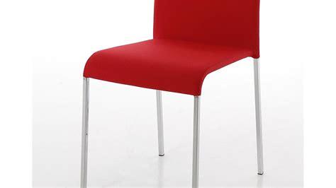 stuhl rot stuhl denna g 252 nstiges 4er set mit stoffbezug in rot