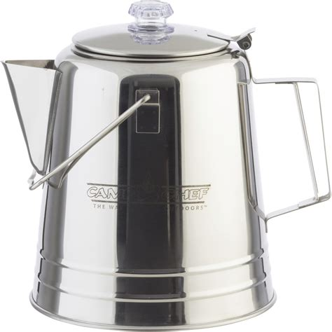 Coffee Maker Stainless 0027200006 c chef stainless steel coffee pot backcountry