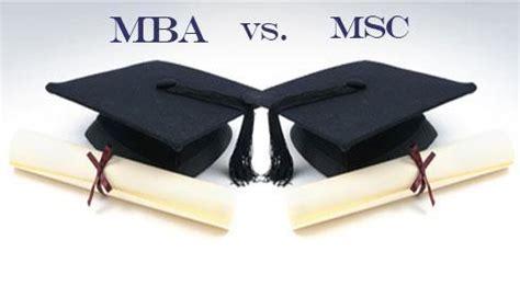 Msc Mba Difference by 비즈니스 유학시 Mba와 Msc의 차이점은
