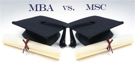 Post Mba In Usa by 비즈니스 유학시 Mba와 Msc의 차이점은