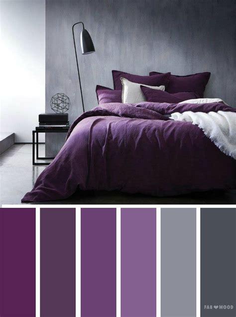 purple color schemes grey and purple color inspiration palette bedroom