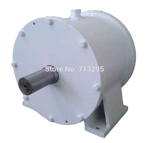 10kw 200rpm 380vac low rpm horizontal wind turbine