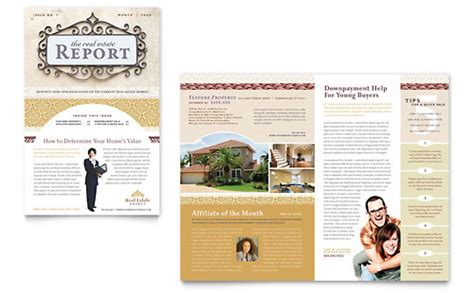 real estate newsletters templates free sle newsletter templates word publisher