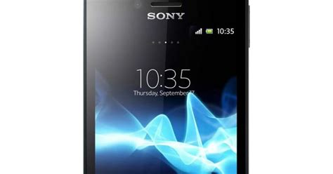 Sony Xperia Miro St 23i Hitam harga dan spesifikasi sony xperia miro st23i 4gb harga