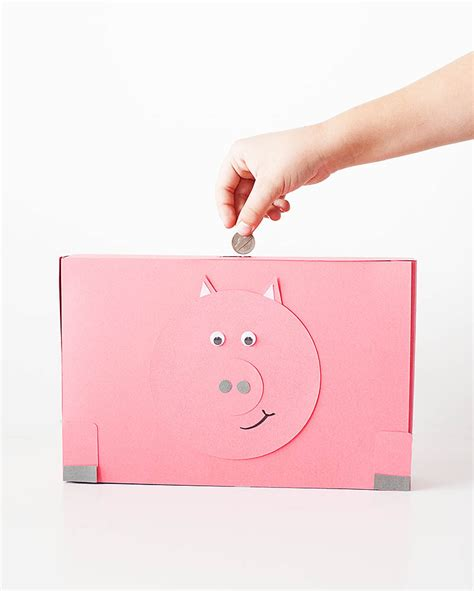 How Do They Make Paper Money - diy cereal box piggy banks 183 kix cereal