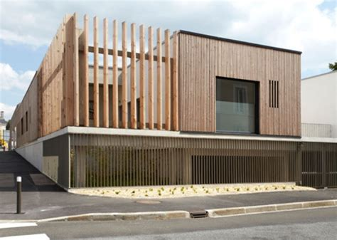 timber architecture timber clad house of the early childhood is a healthy