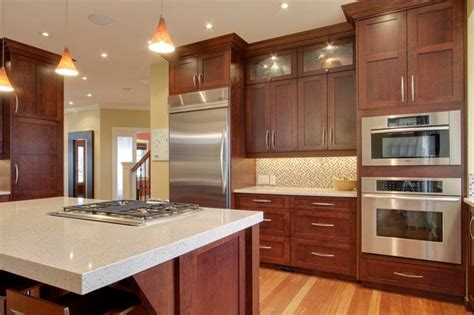 kitchens with cherry cabinets best granite countertops for cherry cabinets