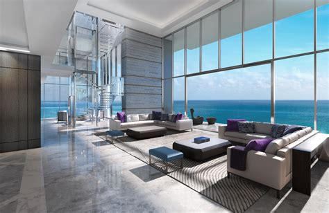 interior design miami style home penthouse at l atelier residences miami beach most