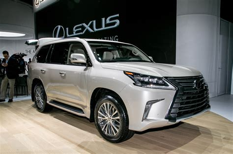 lexus jeep 2018 2018 lexus lx gets five seat variant with more cargo space