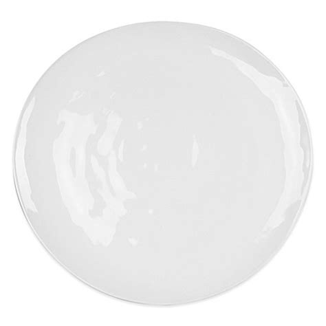 bed bath and beyond dinner plates everyday white 174 by fitz and floyd 174 organic shaped dinner plate bed bath beyond