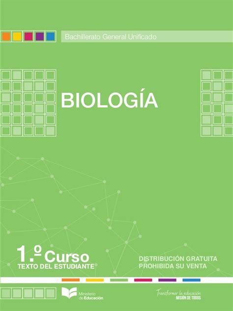 libro bachillerato biologia 1 descargar gratis pdf libros de 1ro de bgu ecuador biologia