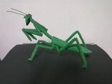 praying mantis origami praying mantis 3d origami praying mantis