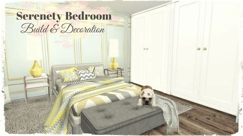 decor links sims 4 serenety bedroom build decoration for download
