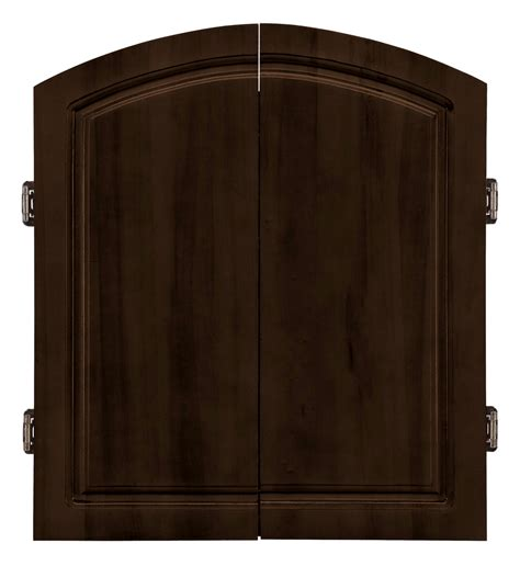 Dart Cabinets by Centerpoint Solid Wood Dartboard Cabinet Set