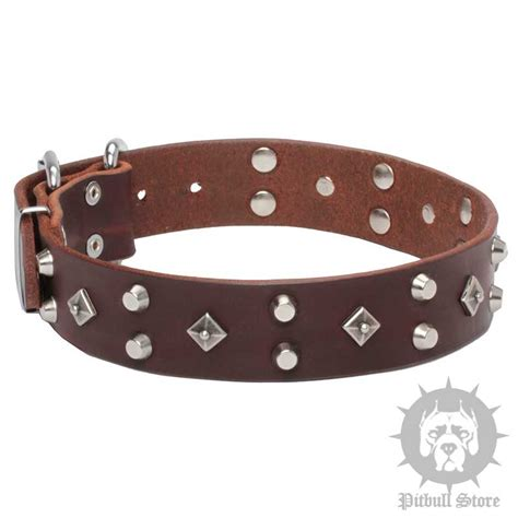 Handmade Leather Collars Uk - designer studded collar handmade collars uk 163 48 10