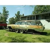 1964 Cadillac Hearse Ambulance GHOSTBUSTERS LIMO SEATS 6