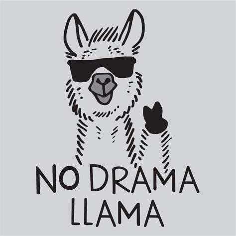 when your llama needs a haircut books no drama llama t shirt snorgtees