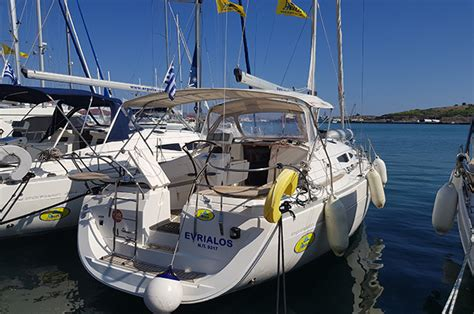 sailing yacht greece sale evrialos sailing yacht sale greece elan i344 yacht sale hellas