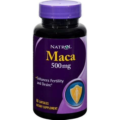 natrol maca 500 mg 60 capsules sageinnov