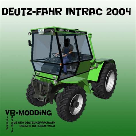 ls 2013: intrac 2004 v 1.0 by vb modding deutz fahr mod
