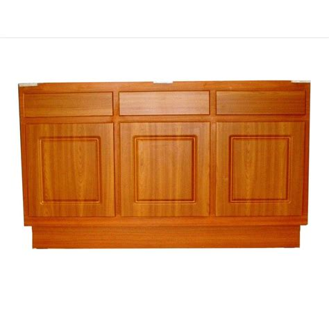 kitchen base cabinets home depot metalarte 60 in laminate cherry base kitchen cabinet