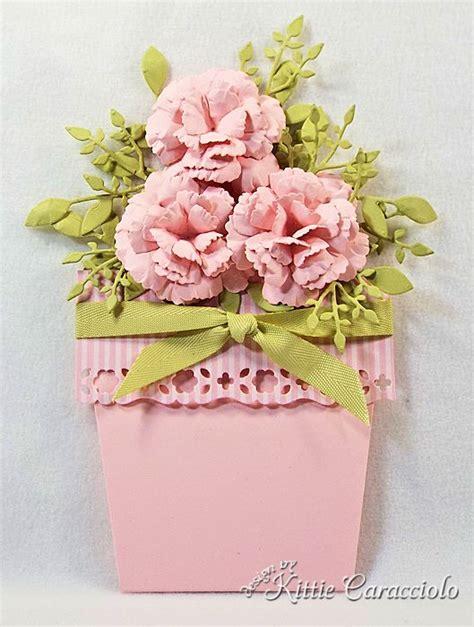 Flower Pot Pocket Card Template by Pocket Of Kittie Kraft