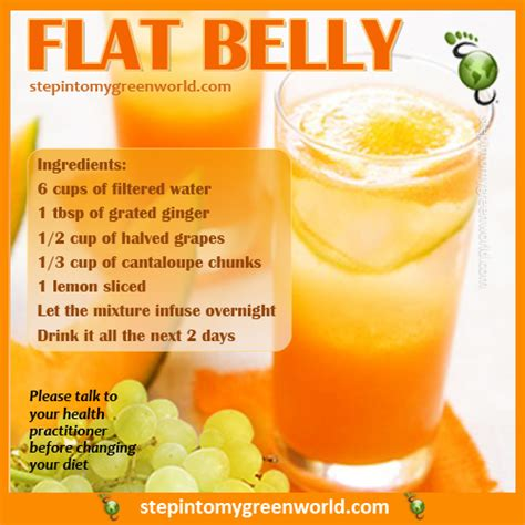 How To Make Grape Detox Water by A Delicious And Simple Flat Belly Water Recipe For All